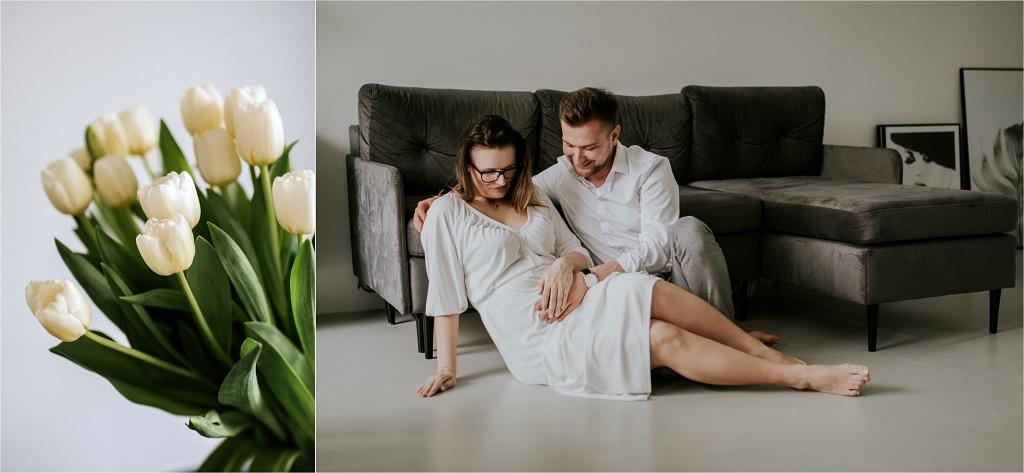 fotografia ciążowa w stylu lifestyle Szczecin