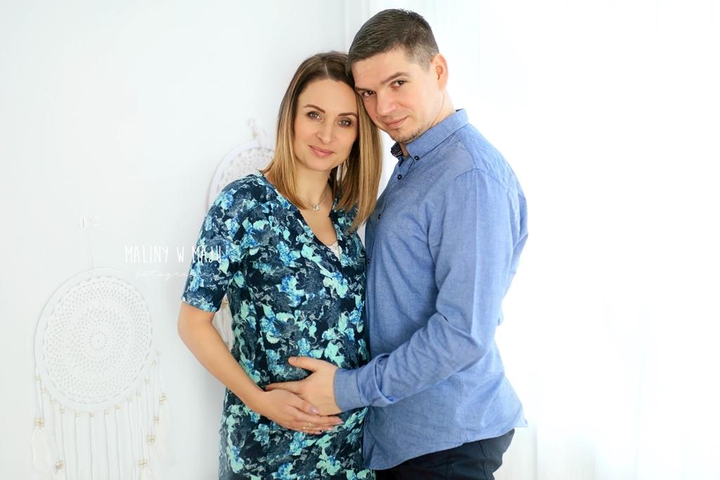 Sesja ciążowa w Szczecinie, sesja rodzinna Szczecin, sesja brzuszkowa Szczecin, Maliny w Maju fotografia,