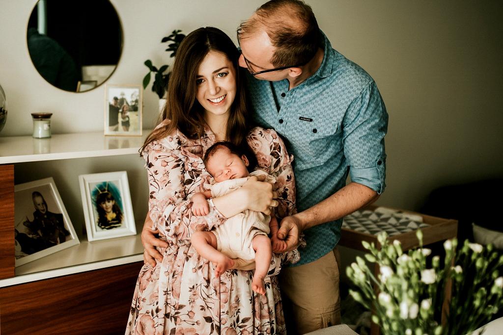 rodzinna fotografia noworodkowa szczecin