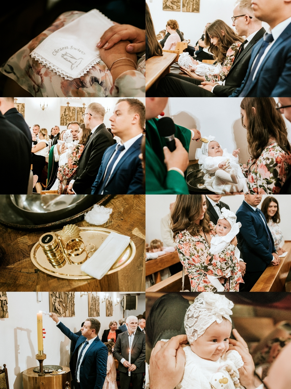 Sesja z okazji chrztu świętego w Szczecinie
