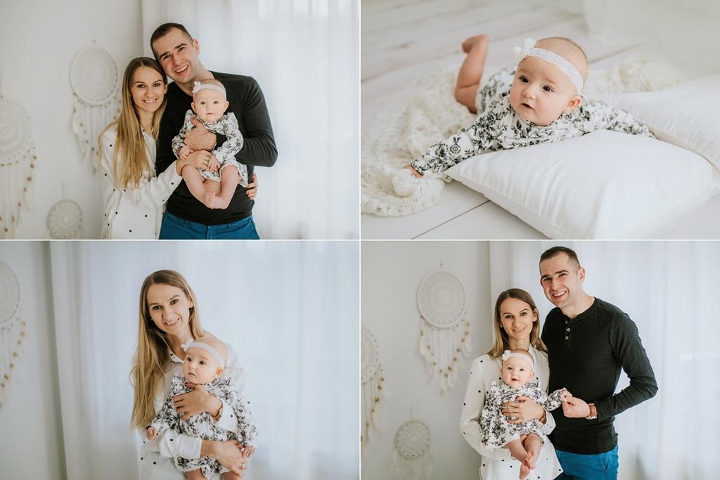 Sesja rodzinna z maluszkiem w Szczecinie