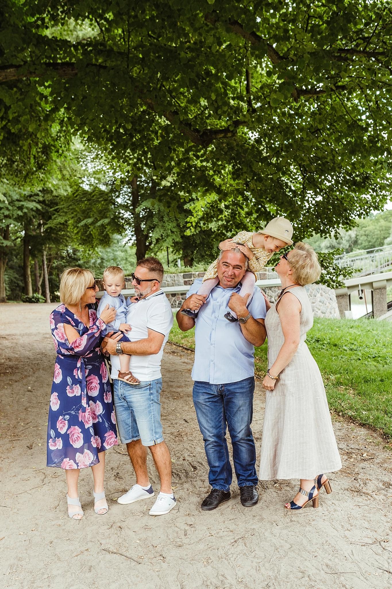 sesja zdjęciowa z dziadkami w Szczecinie